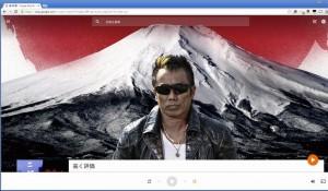 グーグルプレイミュージックの画面